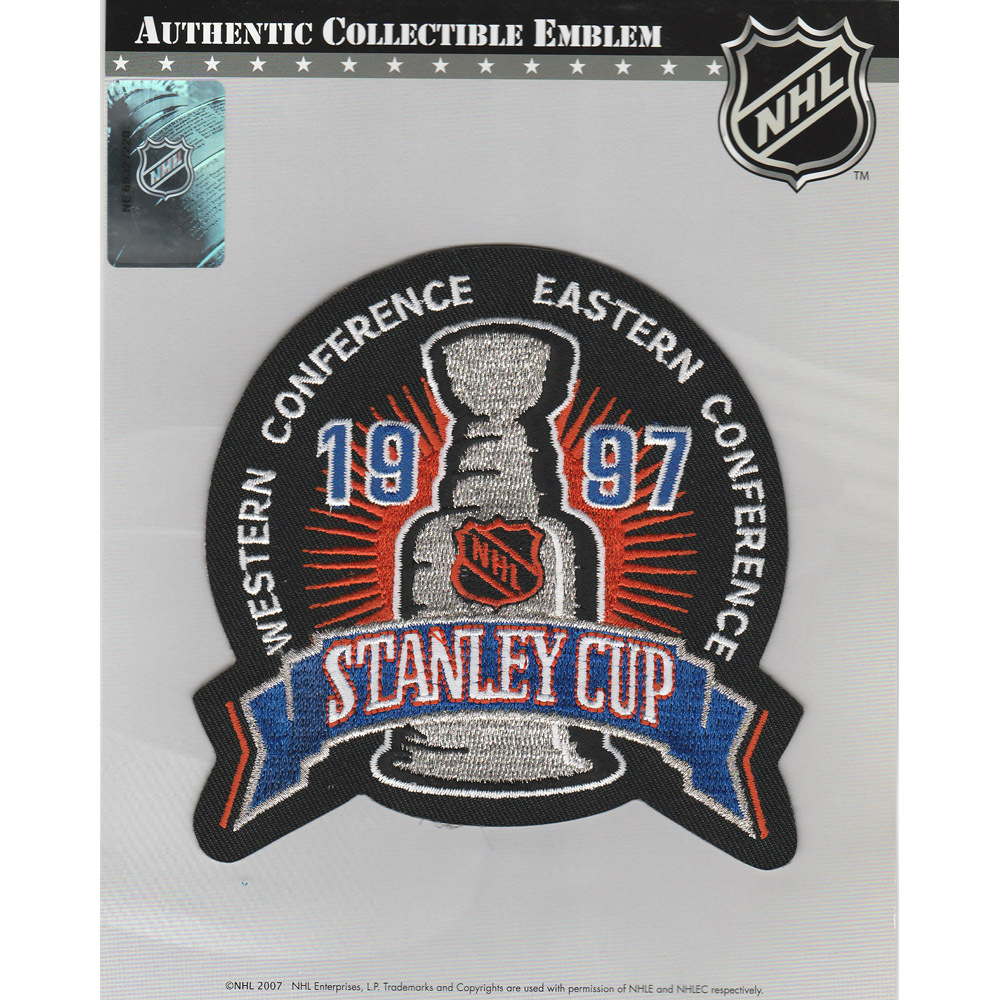 1997 NHL Stanley Cup Final Jersey Patch (Detroit Red Wings vs. Philadelphia Flyers)