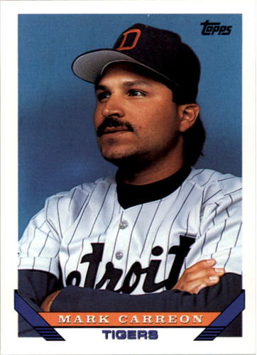 Photo of 1993 Topps #567 Mark Carreon