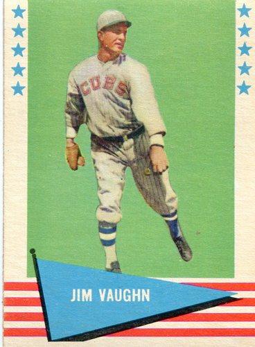 Photo of 1961 Fleer #82 Hippo Vaughn