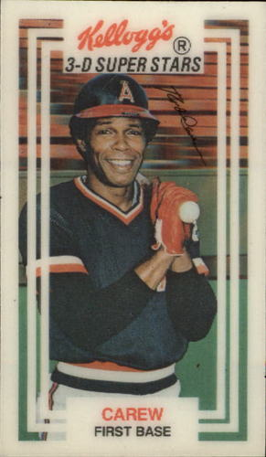 Photo of 1983 Kellogg's #1 Rod Carew