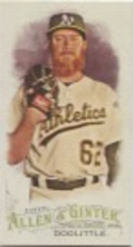 Photo of 2016 Topps Allen and Ginter Mini #347 Sean Doolittle