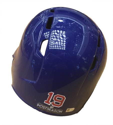Photo of Koji Uehara 2017 Postseason Batting Helmet
