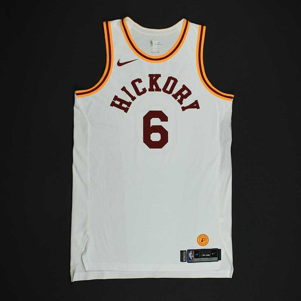 Cory Joseph - Indiana Pacers - 1986 Hoosiers Movie - '1954-55 Hickory Road' Classic Edition Game-Worn Jersey