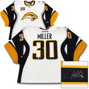 Ryan Miller Autographed Buffalo Sabres Jersey