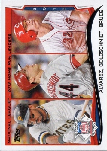 Photo of 2014 Topps #38 Pedro Alvarez/Paul Goldschmidt/Jay Bruce LL
