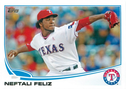 Photo of 2013 Topps #30 Neftali Feliz