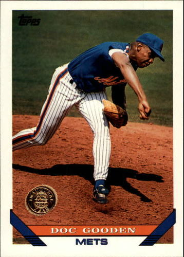 Photo of 1993 Topps Inaugural Rockies #640 Dwight Gooden