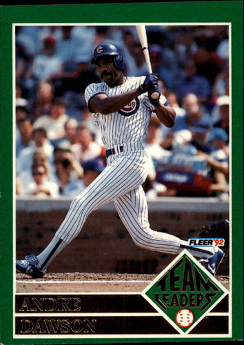 Photo of 1992 Fleer Team Leaders #20 Andre Dawson