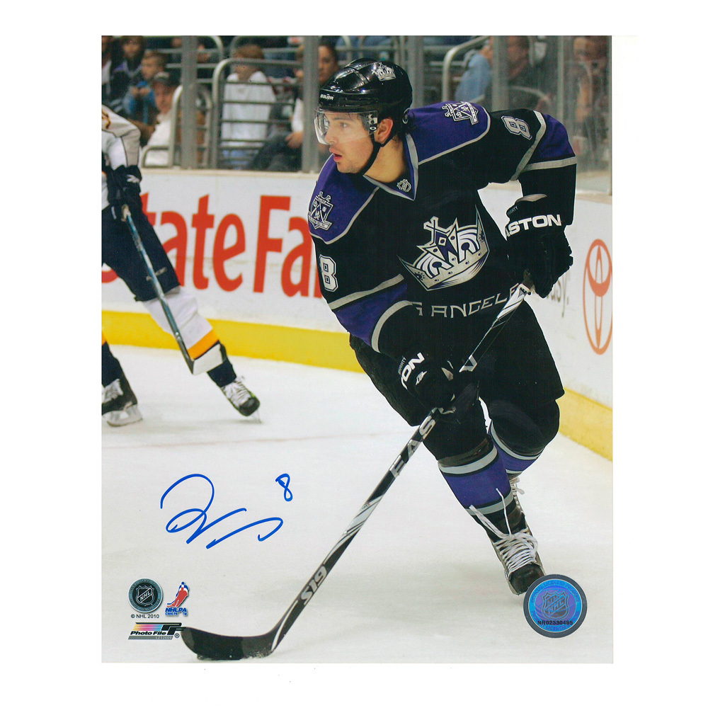 DREW DOUGHTY Signed Los Angeles Kings 8 X 10 Photo - 70249
