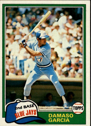 Photo of 1981 Topps #488 Damaso Garcia RC