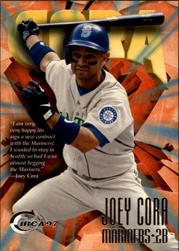 Photo of 1997 Circa #390 Joey Cora