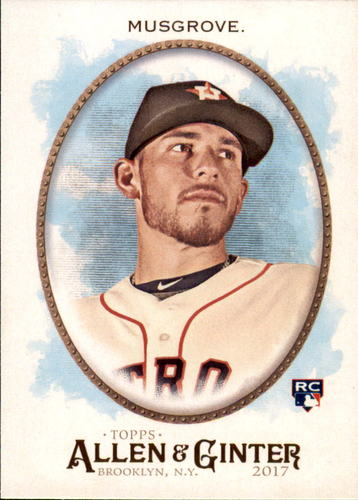 Photo of 2017 Topps Allen and Ginter #117 Joe Musgrove Rookie Card -- Astros post-season