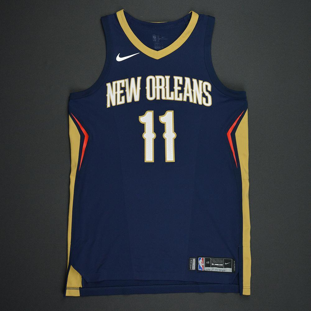 Jrue Holiday - New Orleans Pelicans - Kia NBA Tip-Off 2017 - Game-Worn Jersey - Worn During 3 Games