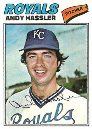 Photo of 1977 Topps #602 Andy Hassler