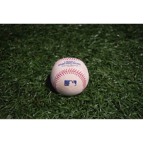 Photo of Game-Used Baseball: Kevin Kiermaier Double off Derek Holland
