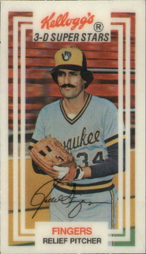 Photo of 1983 Kellogg's #2 Rollie Fingers