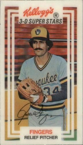 Photo of 1983 Kellogg's #2 Rollie Fingers