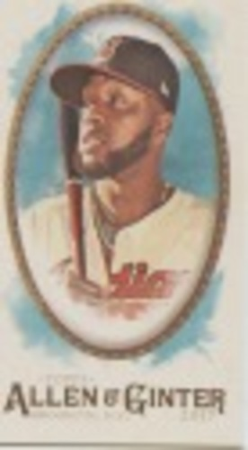 Photo of 2017 Topps Allen and Ginter Mini #31 Carlos Santana