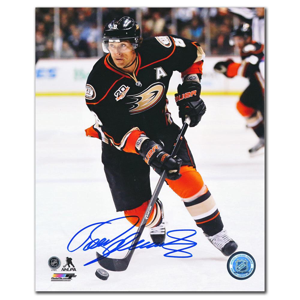 Teemu Selanne Anaheim Ducks PLAYMAKER Autographed 8x10