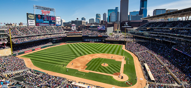 MINNESOTA TWINS BASEBALL GAME: 6/14 VS. KANSAS CITY (2 DELTA SKY 360° CLUB TICKETS)