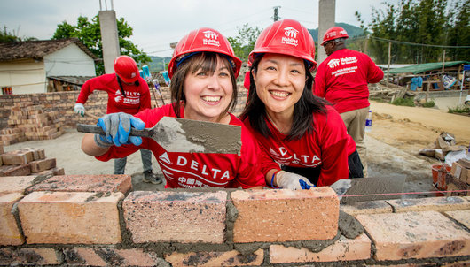 DELTA GLOBAL BUILD WITH HABITAT FOR HUMANITY IN VANCOUVER - PACKAGE 1 of 2
