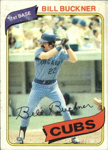 Photo of 1980 Topps #135 Bill Buckner