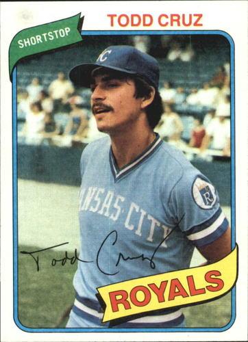 Photo of 1980 Topps #492 Todd Cruz RC