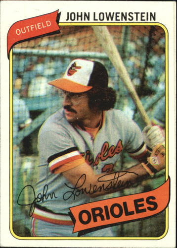 Photo of 1980 Topps #287 John Lowenstein