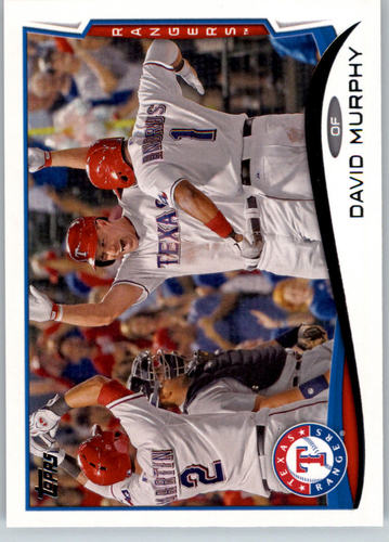 Photo of 2014 Topps #39 David Murphy
