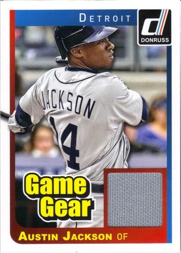 Photo of 2014 Donruss Game Gear #28 Austin Jackson