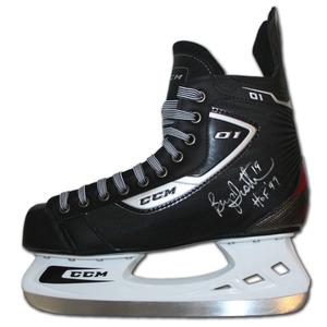 Bryan Trottier Autographed CCM Hockey Skate (New York Islanders, Pittsburgh Penguins)