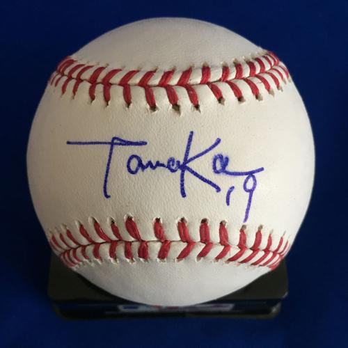 Photo of UMPS CARE AUCTION: Masahiro Tanaka Signed Baseball