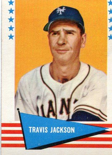 Photo of 1961 Fleer #115 Travis Jackson