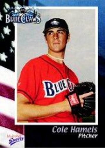 Photo of 2003 Lakewood BlueClaws Multi-Ad #1 Cole Hamels
