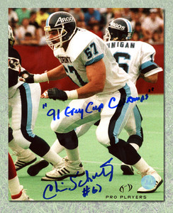 Chris Schultz Toronto Argonauts Autographed 8x10 Photo