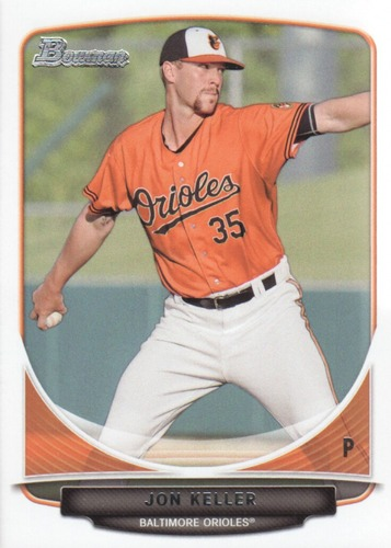 Photo of 2013 Bowman Draft Draft Picks #BDPP106 Jon Keller