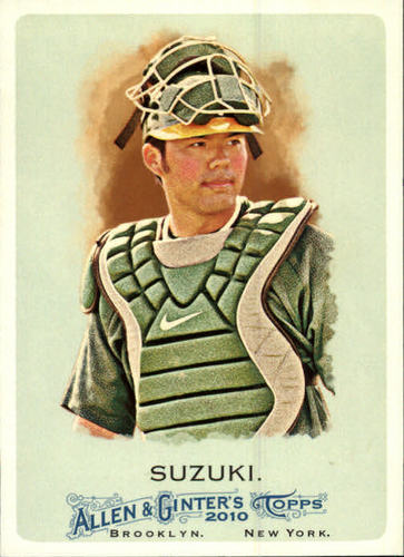Photo of 2010 Topps Allen and Ginter #281 Kurt Suzuki