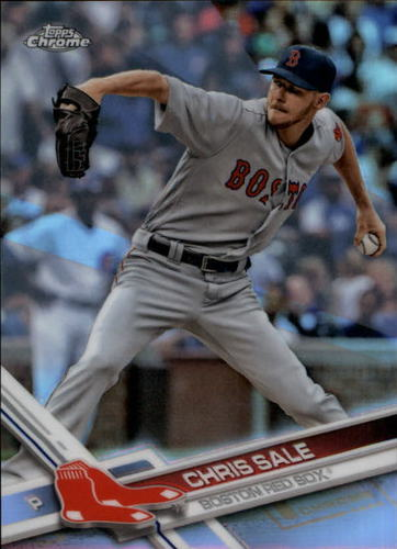 Photo of 2017 Topps Chrome Refractors #160 Chris Sale