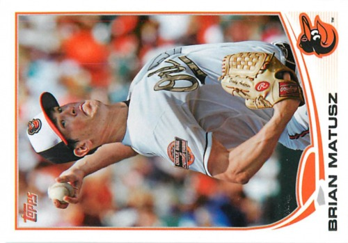 Photo of 2013 Topps #217 Brian Matusz