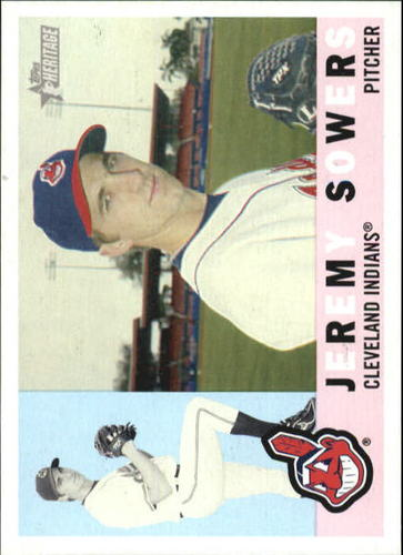 Photo of 2009 Topps Heritage #14 Jeremy Sowers