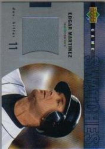Photo of 2003 Upper Deck Game Swatches #RJEM Edgar Martinez