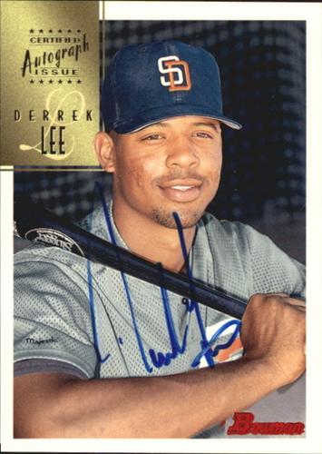 Photo of 1997 Bowman Certified Blue Ink Autographs #CA47 Derrek Lee