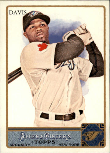 Photo of 2011 Topps Allen and Ginter #123 Rajai Davis