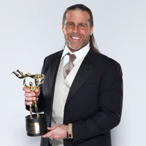 Shawn Michaels SIGNED WWE Replica Slammy Award