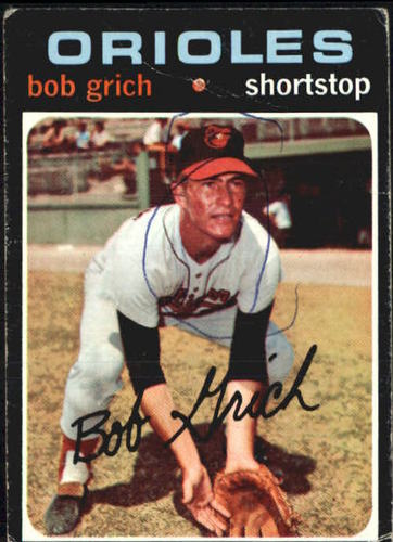 Photo of 1971 Topps #193 Bob Grich RC