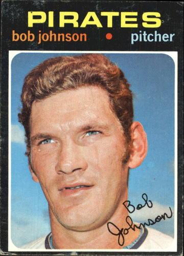 Photo of 1971 Topps #365 Bob Johnson