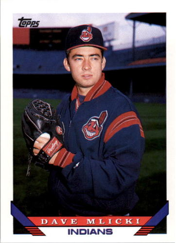 Photo of 1993 Topps #571 Dave Mlicki