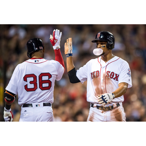 Photo of Red Sox Foundation 15th Anniversary - Xander Bogaerts Game-Used and Autographed Jersey