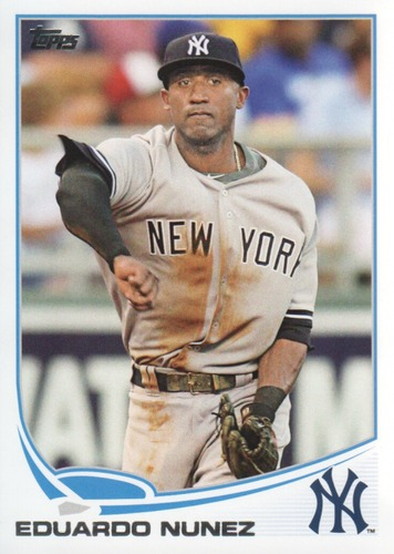 Photo of 2013 Topps #462 Eduardo Nunez
