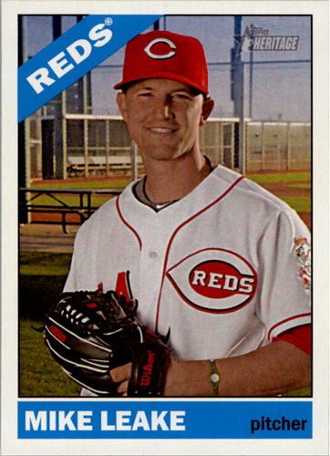Photo of 2015 Topps Heritage #35 Mike Leake